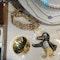 Date: circa 1890, 9ct Yellow Gold Gate Bracelet, SHAPIRO & Co since1979 - image 7