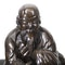 Japanese bronze figure of a sage on a cow - image 11