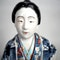 Japanese porcelain figure of a Bijin lady - image 5