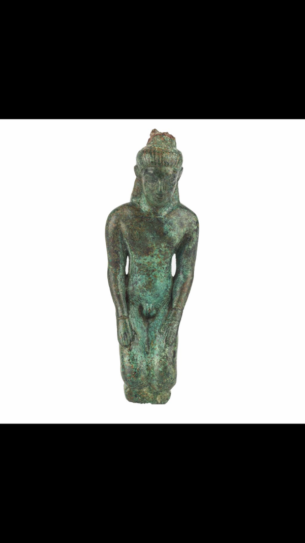 Greek bronze statue - image 3