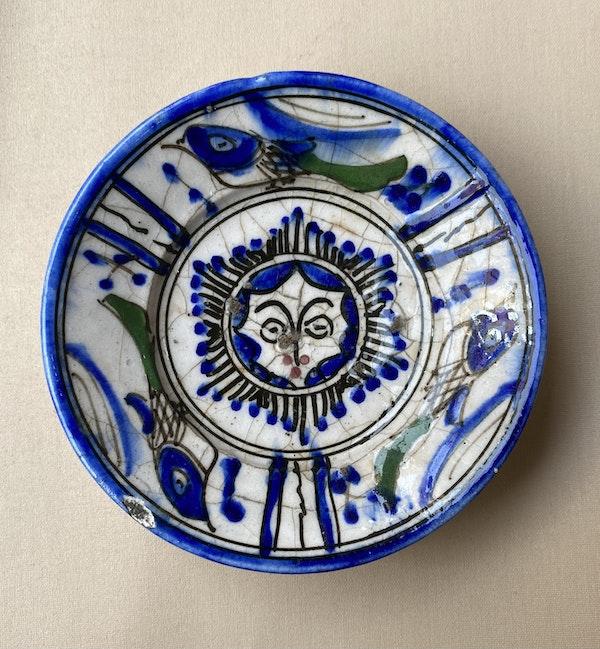 Early Qajar Dish - image 2