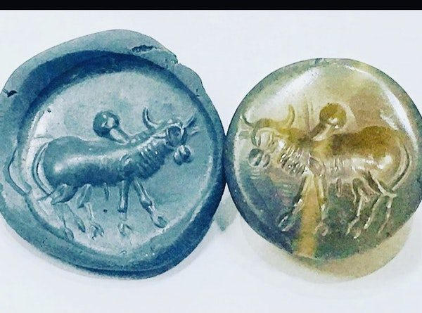 Agate scarab - image 2