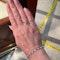 Diamond Bracelet in 18ct White Gold date circa1960  SHAPIRO & Co since1979 - image 7