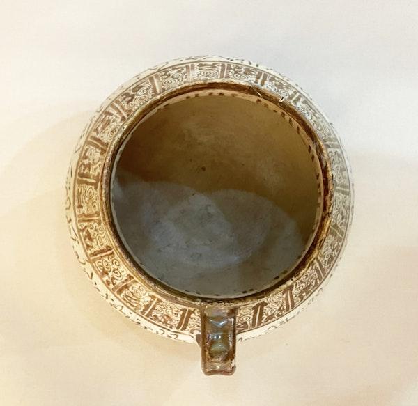 Kashan Lustre Pottery Jug - image 5