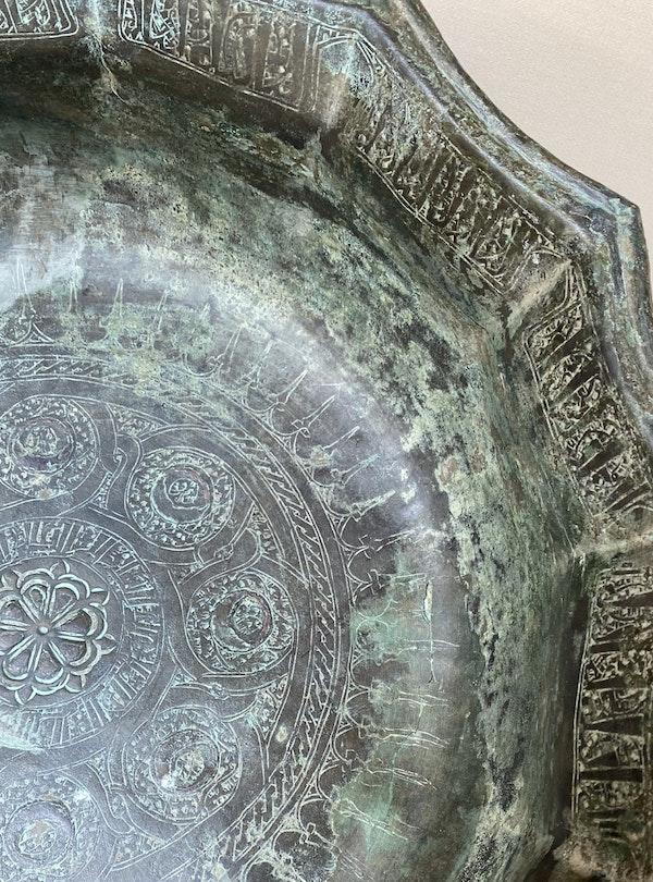 Seljuk Bronze Bowl - image 3