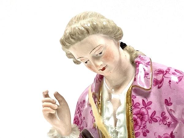 Pair of 19th century Meissen figures - image 5