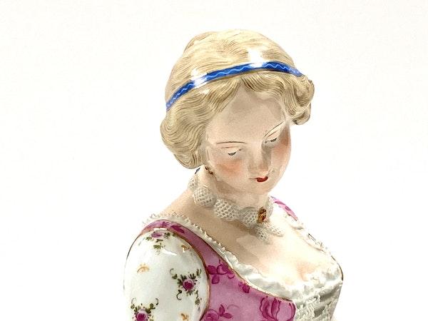 Pair of 19th century Meissen figures - image 6