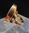 Antique Carnelian Carved Ring - image 2