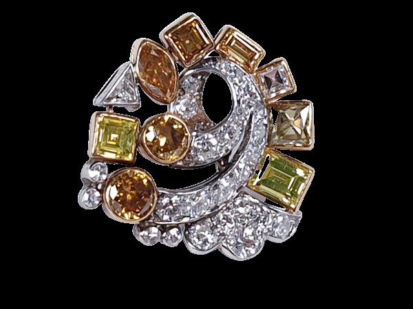 Awesome coloured diamond earrings sku 4809 DBGEMS - image 7
