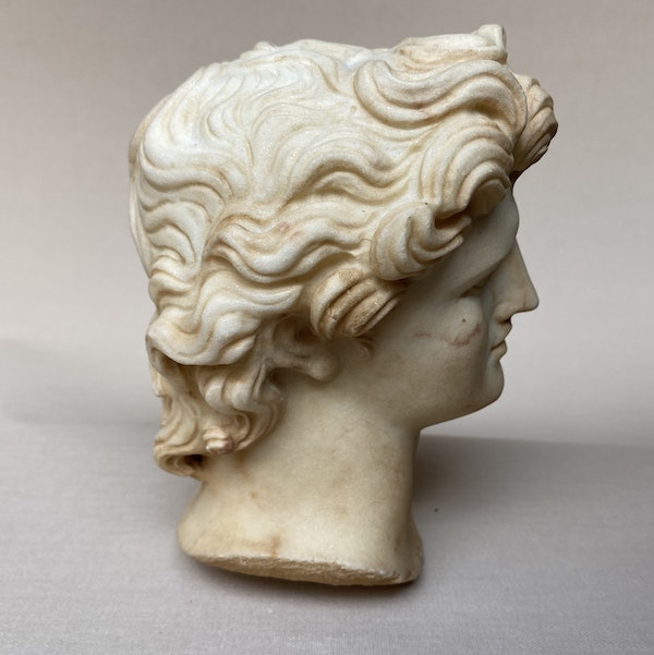 Alexander Greek Head - image 2