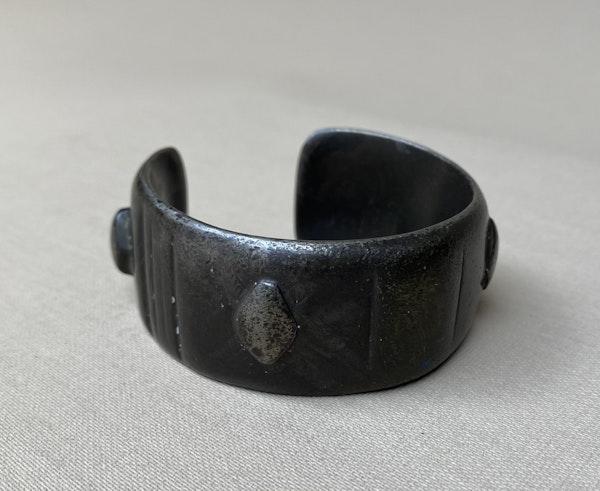 Greek Silver Bracelet - image 3