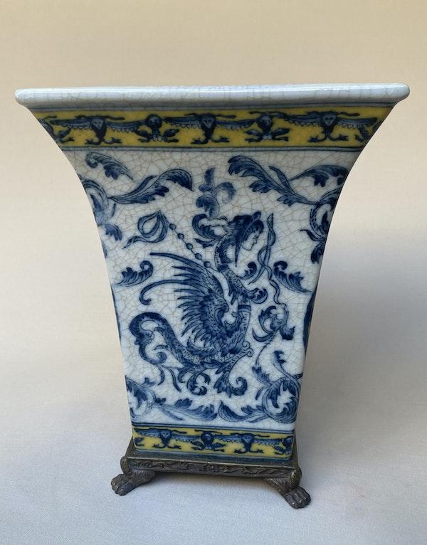 French Porcelain Vase (set of 2) - image 2