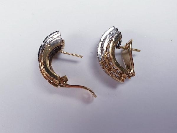 Stunning diamond earrings Sku 4811  DBGEMS - image 3