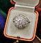 A very beautiful & stylish Art Deco Diamond Demi-Bombé Ring, mounted in Platinum, Circa 1935 - image 4