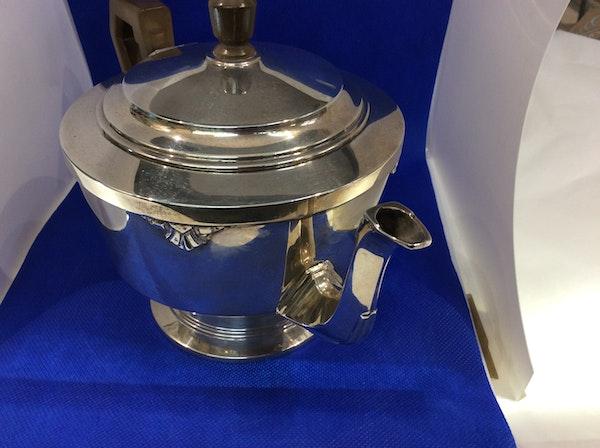 A silver Art Deco teapot - image 5