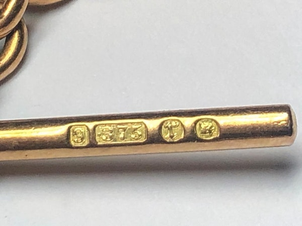 9ct Rose Gold Albert Chain....C1891 - image 4