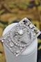 An exquisite Art Deco Diamond Floral Basket Brooch mounted in Platinum, English, Circa 1930 - image 2