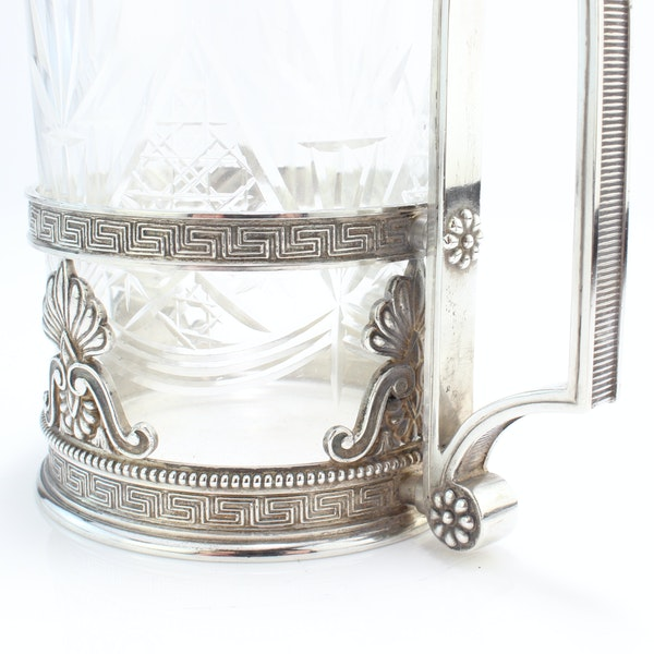 Faberge silver tea glass holder, Moscow c.1900 - image 5