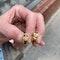 Topaz Earrings in 18ct Gold date circa 1980 SHAPIRO & Co since1979 - image 6