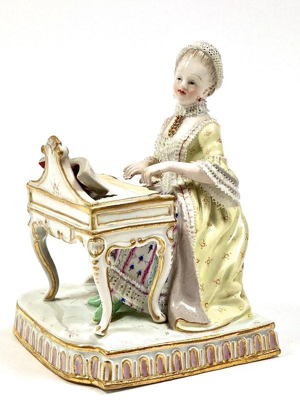 """Meissen figure of """"Sound"""" - image 2"""