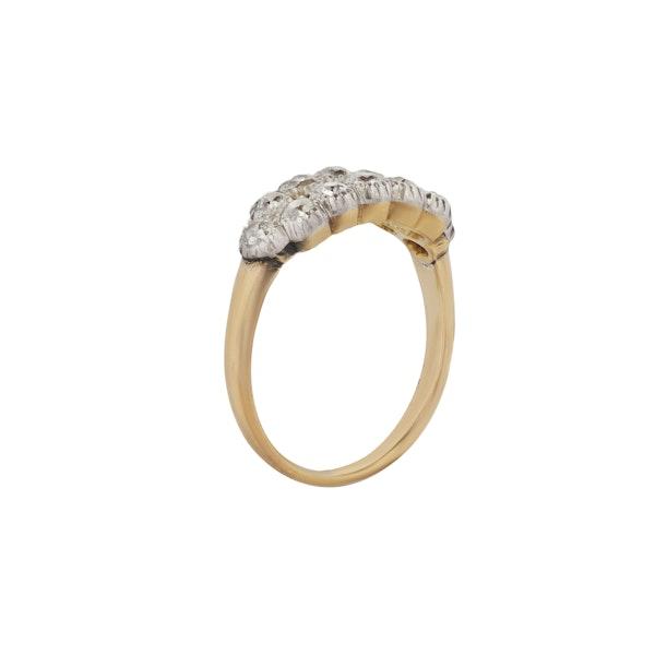 A two row Diamond ring - image 2