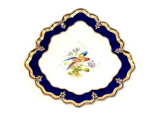 Pair of signed Royal Crown Derby dishes - image 2
