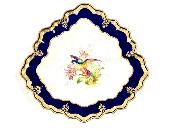 Pair of signed Royal Crown Derby dishes - image 3