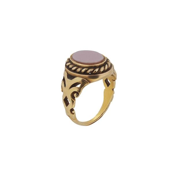 A Carnelian Signet ring - image 2