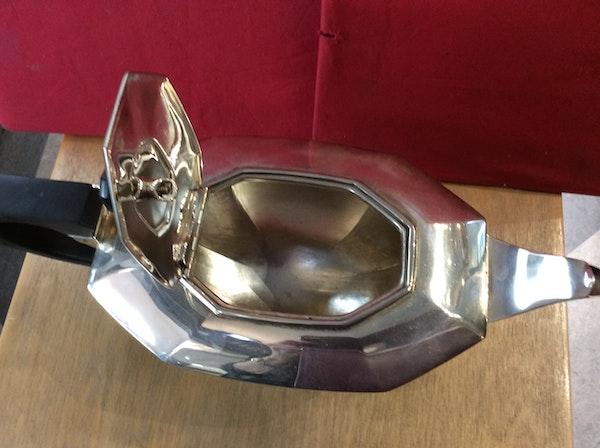 A silver Art Deco tea set - image 3