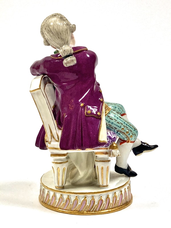 Pair of Meissen figures - image 6
