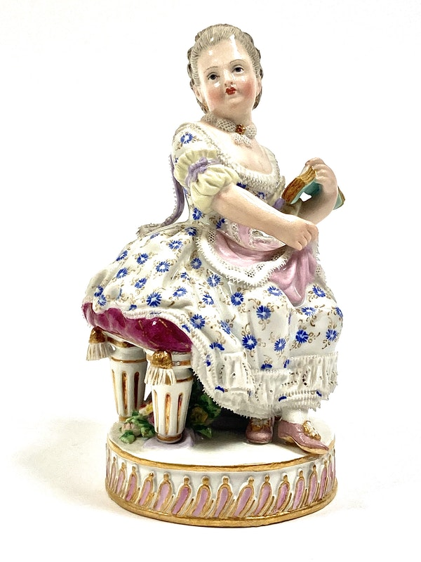 Pair of Meissen figures - image 4