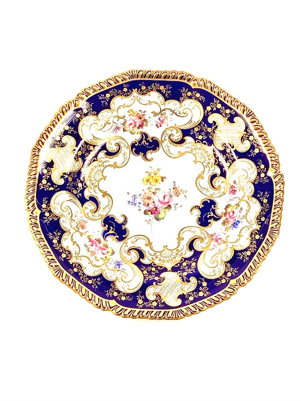 Set of   Royal Crown Derby plates - image 2