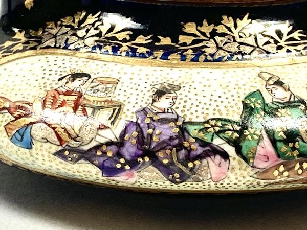 Miniature Satsuma wine pot - image 5