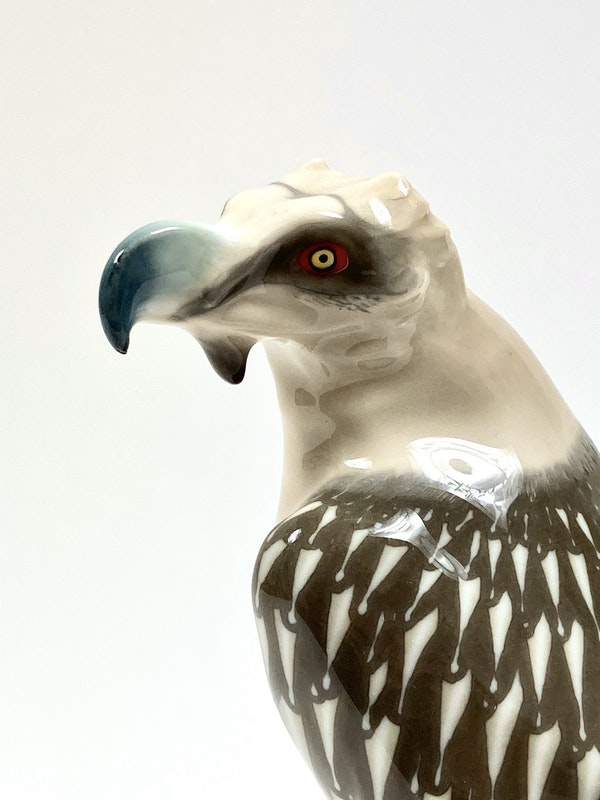 Meissen Art Nouveau bird - image 4