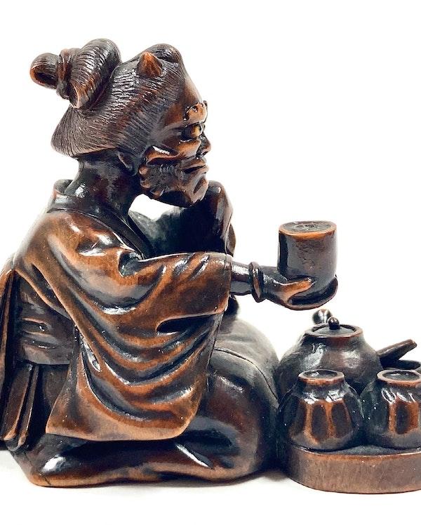 Wood Okimono - image 2