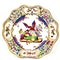 Pair of reticulated 19th century Meissen plates - image 3