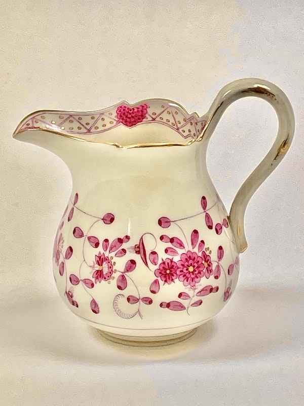 Meissen coffee pot, milk jug and sugar box - image 4