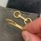 Gold Cufflinks in 18ct Yellow Gold date circa 1950 SHAPIRO & Co since1979 - image 6