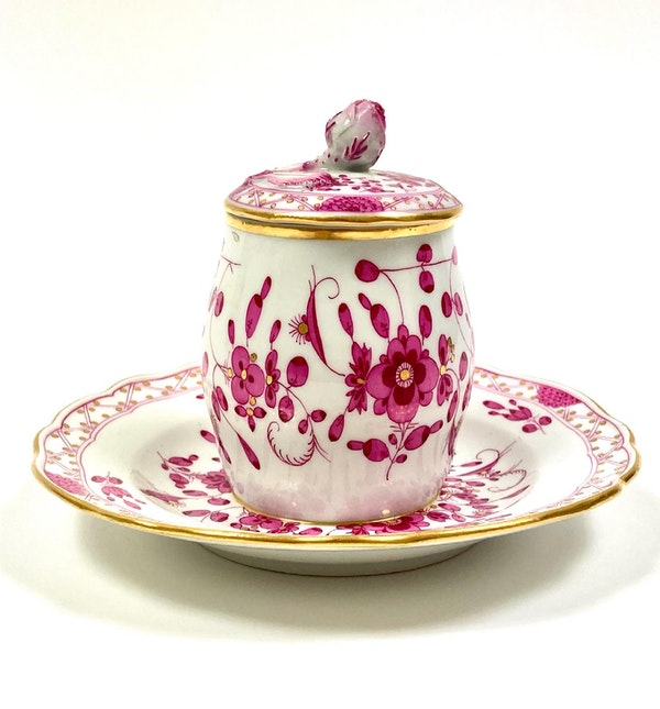 Meissen preserve pot and cover - image 2