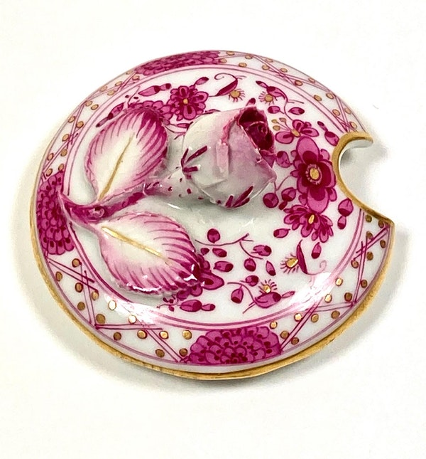 Meissen preserve pot and cover - image 4