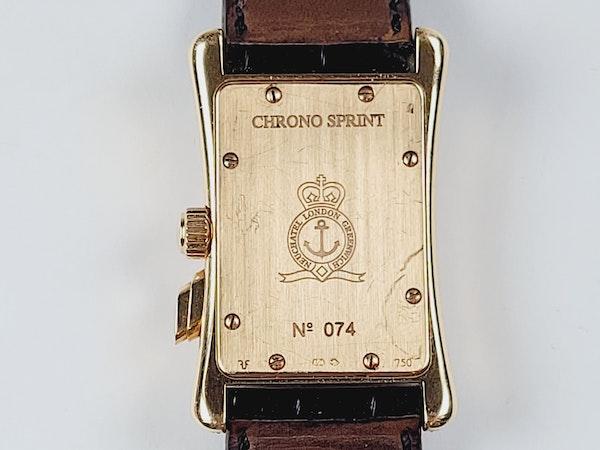 Graham 18ct gold and diamond manual watch sku 4851  DBGEMS - image 2