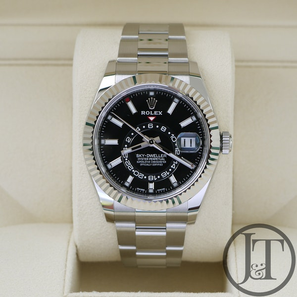 Rolex Sky-Dweller 326934 Oyster Black Dial Unworn 2021 - image 3