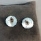 Georg Jensen Silver Earrings date post 1945 mark, SHAPIRO & Co since1979 - image 4