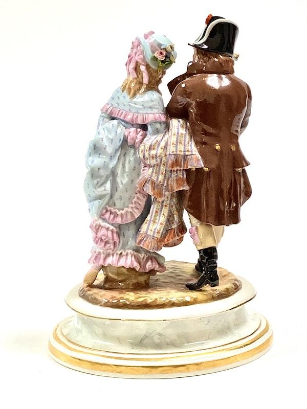 19th century Meissen group - image 3