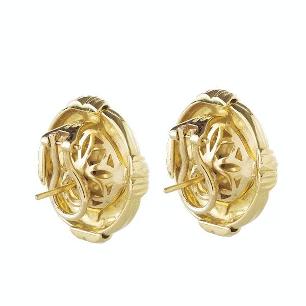 A pair of vintage Gold earrings by Asprey - image 2