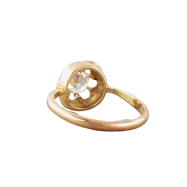 A Gold and Diamond ring - image 2