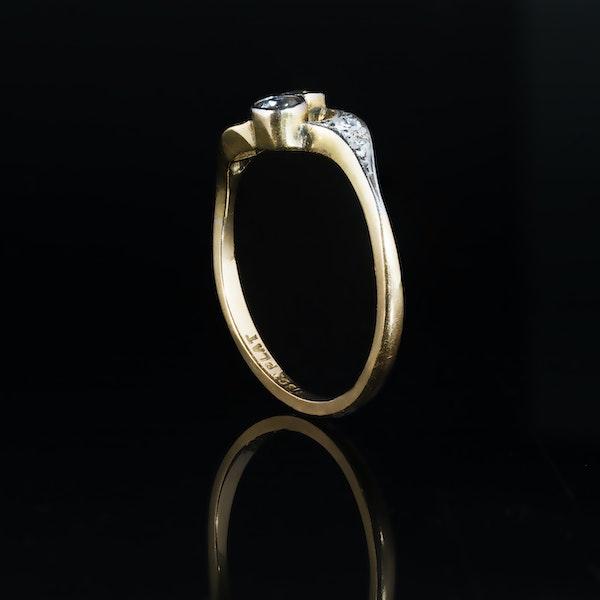 A Diamond Toi et Moi Ring - image 2