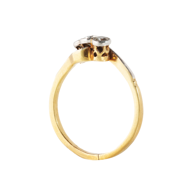 A three Stone Diamond Ring - image 2