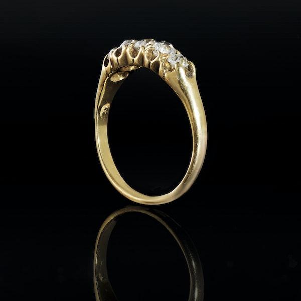 A Five Stone Diamond Ring - image 2
