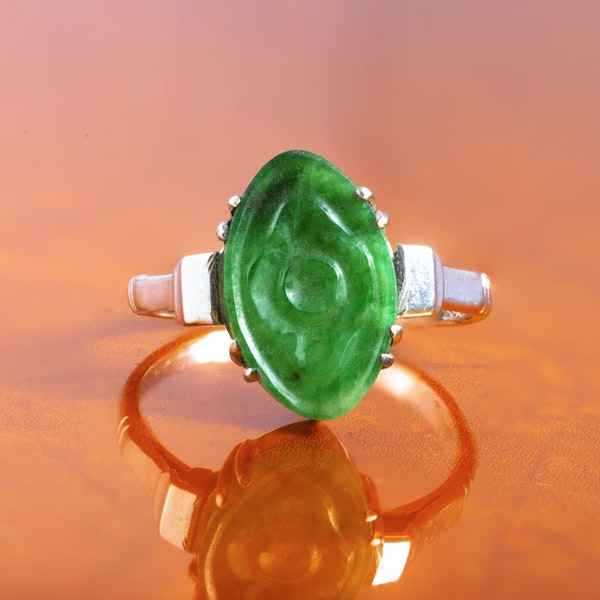 A Jade ring - image 1